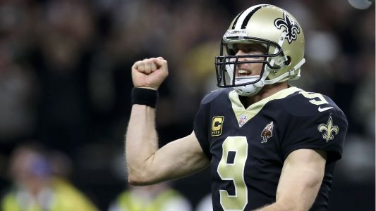 Saints QB Drew Brees passes Brett Favre for most career completions