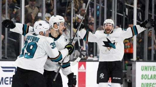 NHL playoffs 2019: Tomas Hertl nets historic double-overtime goal, makes good on Game 7 vow