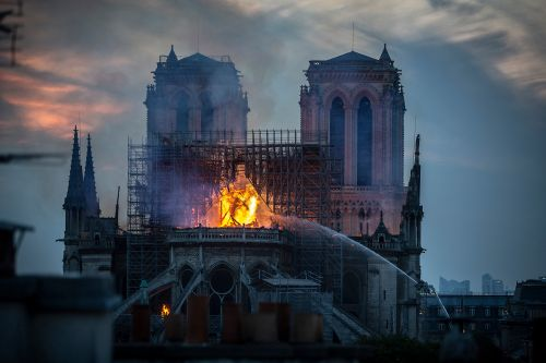 Electrical short circuit likely caused Notre Dame fire