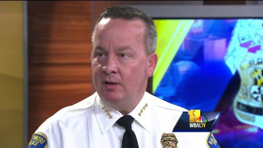 Mayor Pugh fires BPD Commissioner Kevin Davis, citing need to reduce city violence