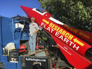 Self-taught rocket scientist plans to launch over California ghost town