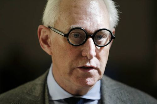 The Latest: Stone says no evidence he colluded with Russia