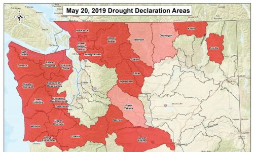 Gov. Inslee declares drought for nearly half of Washington state