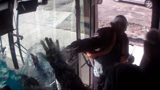 Surveillance video: Man wanted for attack on Cincinnati bus driver