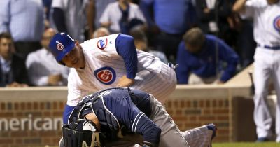 MLB: Rizzo violated rule, won't be disciplined