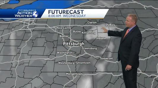 Pittsburgh's Action Weather forecast: Dry but humid on Wednesday