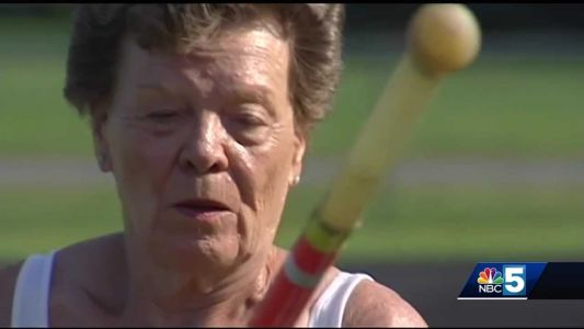 World's oldest pole vaulter encourages senior citizens to stay active