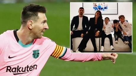 Saying 'oui' to PSG? Messi and family 'learning French' as rumors of summer move to Paris intensify, journalist claims