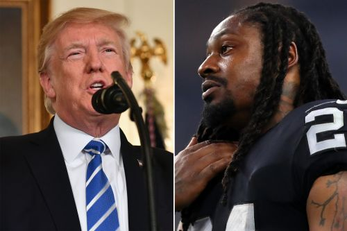 Trump calls on NFL to suspend Marshawn Lynch