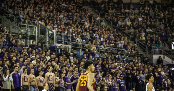 The Huskies have returned to prominence in Pac-12 hoops, and so has the roar on Montlake