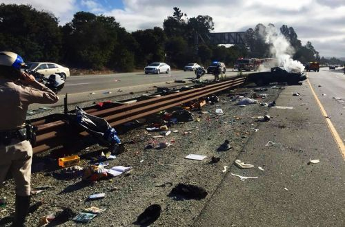 Boy ejected from truck on Highway 1 in Capitola
