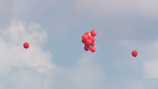 Eco group wants to take air out of Husker balloon release