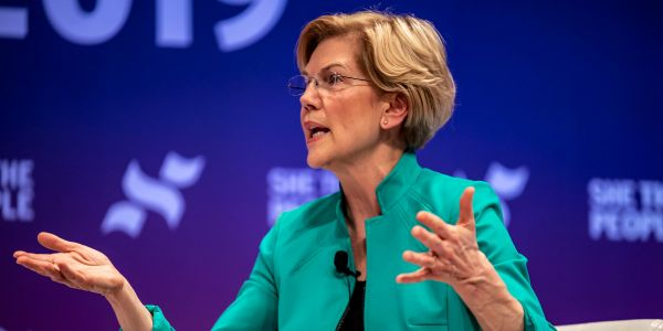 Elizabeth Warren's plan to forgive student loan debt is costly, but it could actually pour money into the US economy