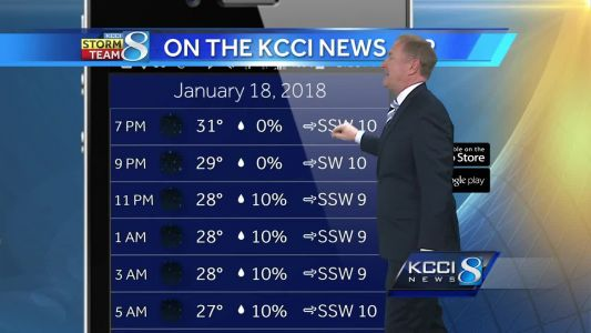 Videocast: Refreeze possible as temps drop tonight