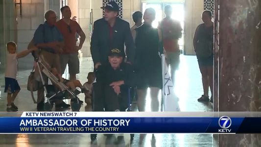 Ambassador of history: WWII veteran traveling the country