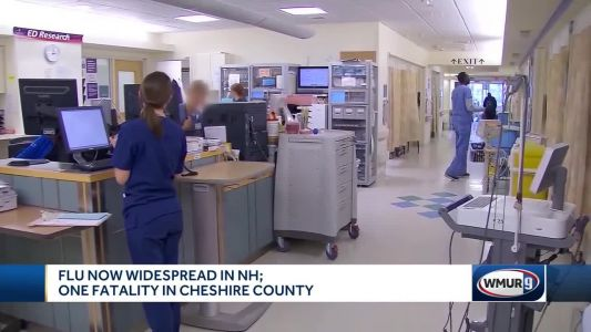 Flu now widespread in NH