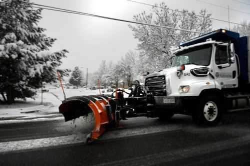 An inside look at how mechanics manage snow plows