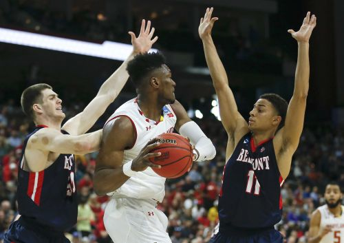 Terps beat Belmont in first round of NCAA Tournament