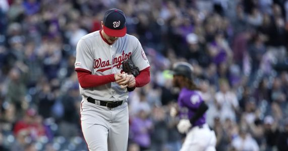 Corbin, Robles lead Nationals to 6-3 win over Rockies