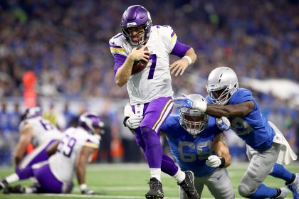 Keenum Leads Vikings Over Lions 30-23 For 7th Straight Win