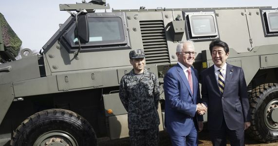 Australia PM Turnbull in Japan for economic, security talks