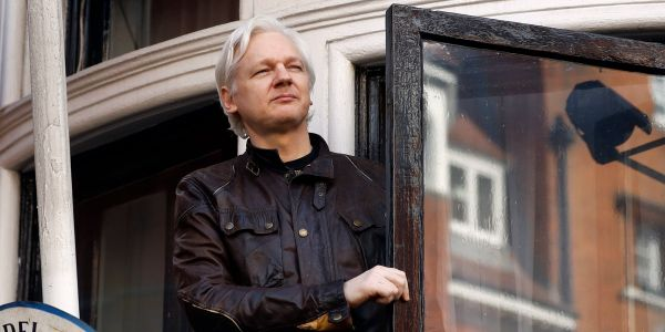 Over 10,000 private Twitter messages from WikiLeaks founder Julian Assange have been leaked - read Assange's thoughts on Hillary Clinton, Russia, and Chelsea Manning
