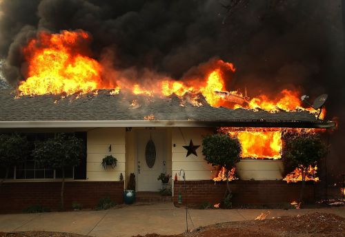 California wildfires: 3 blazes destroying homes and forcing massive evacuations