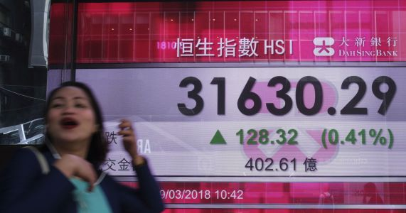 Asian markets mixed following Wall Street gains