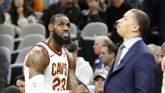 NBA playoffs 2018: Tyronn Lue challenges Cavs to step up with LeBron James