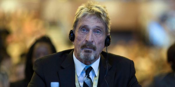 Antivirus mogul John McAfee claims he'll spend his life in prison if he's extradited to the US on tax evasion charges