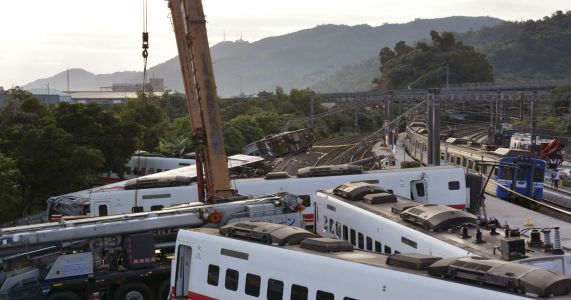 Excessive speed named as cause of Taiwan train derailment