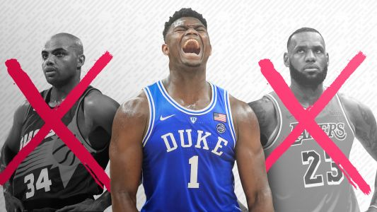 Quit the comparisons: Duke's Zion Williamson is something basketball has never seen