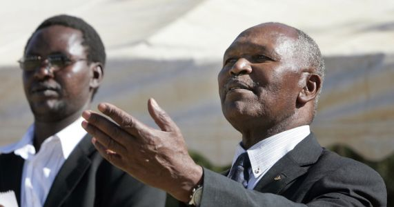 Keino denies wrongdoing, tells AP he didn't control money