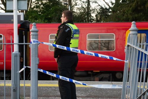 Dad stabbed 18 times in front of son for 'blocking train aisle'