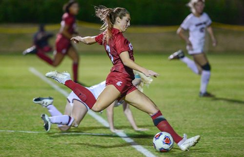 WSU soccer star Morgan Weaver hoping to cap her brilliant Cougar career with a title