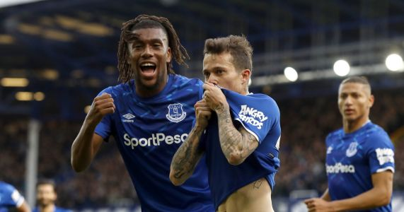 Everton beats West Ham 2-0 to end losing streak