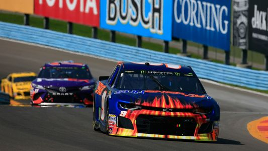NASCAR results at Watkins Glen: Chase Elliott holds off Martin Truex Jr. to win first race