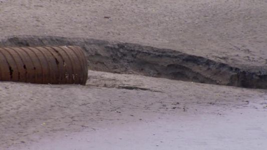 Marion County officials work to fill sinkholes that opened in The Villages