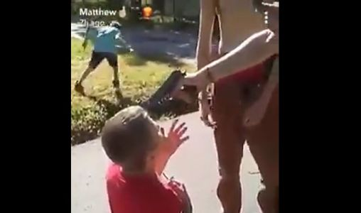 Police: Disturbing video shows boy being punched, having gun pointed at head
