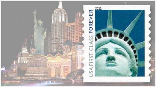 Statue of Liberty stamp costs USPS $3.5 million