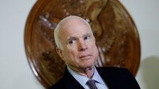 McCain undergoes surgery for intestinal infection