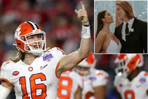Trevor Lawrence marries Marissa Mowry after skipping NFL Draft event