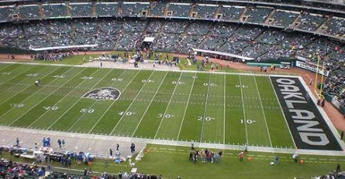 Overheard at the Oakland Coliseum: 'There are two dead mice in the soda machine'