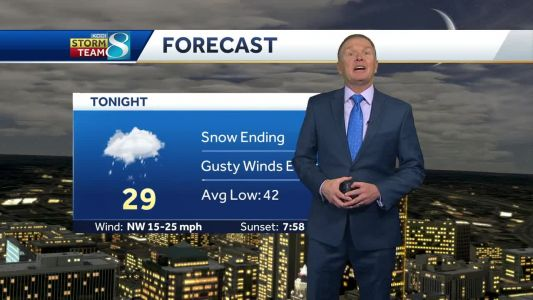 Videocast: Winds pick up as snow winds down