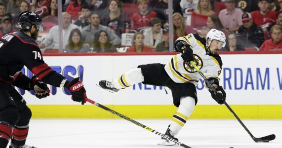 Marchand misses Bruins' last practice before Cup Final