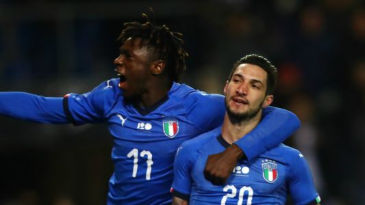 Matteo Politano's late goal gives Italy win over United States