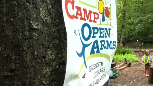'Camp Open Arms' hosts kids with limb challenges