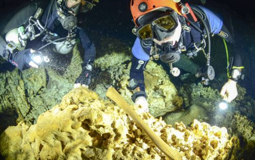 Experts: Underwater archaeology site imperiled in Mexico