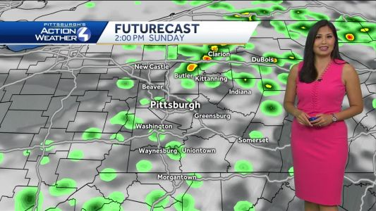 Scattered Rain Showers and Thunderstorms This Weekend