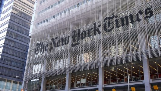 New York Times reporter suspended in harassment probe